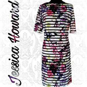 Floral shift/ bandage style dress